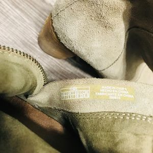 TOMS Suede Ankle Boots Size Size 7.5